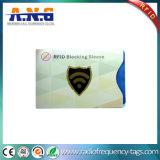 Imprimindo em papel de alumínio são as luvas de protecção de RFID