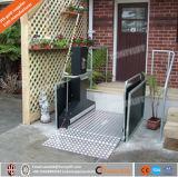 세륨 ISO에 의하여 승인된 휠체어 유압 수직 플래트홈은 또는 불리한을%s 무능한 가정 플래트홈 상승을%s 엘리베이터 든다
