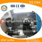 수평한 CNC 도는 선반을 자르는 작은 금속