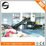 Desfibradora de la trituradora de la tela/máquina de la trituradora de los paños/trituradora de residuos