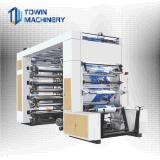 Высокоскоростной тип 8 печатная машина стога Flexo цветов