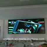 Schermo di visualizzazione dell'interno di media di pubblicità del metallo LED di colore completo di alte risoluzioni P2.5 SMD