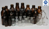 De Fles van het glas voor Farmaceutische Verpakking met RubberKurk en Sluiting