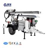 Duas Rodas pequena plataforma de perfuração de poços de água (HF120W)