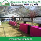 PVCは屋外の結婚披露宴のイベントのためのテントを飾った