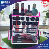 L'acrylique cosmétiques boîte rouge à lèvres maquillage détenteur de l'organiseur
