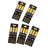 Bewegliche Mini-Nachtlicht-Lampen-warmes Licht der USB-Energien-3 LED allgemeinhin für Energien-Bank-mobilen Aufladeeinheits-Computer