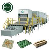 Ce de moldeo de Hghy pulpa de papel bandeja de fruta/bandeja de huevos/máquina de cartón de huevos