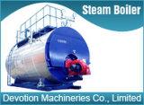 Fuel Gas / Diesel / fuel de 1 T / H Shell caldera de vapor