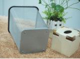 Quadratische Art mit Eisen-überzogenem Mülleimer für Raum (KL-57)