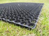 Rodillo artificial de goma verde de la estera de la hierba