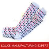 Baumwolle 100% der Frau Coloful Gefäß-Socke (UBM1046)