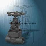 Robinet d'arrêt sphérique industriel en acier modifié