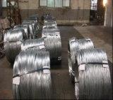 Fil galvanisé par électro pour le fil obligatoire mou de Construction/18gauge