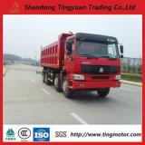 12 camion à benne basculante de tombereau de Sinotruk HOWO de roues pour la construction