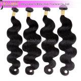 Populares Balck Natural humano brasileño Remy Hair Extension! La onda de cuerpo cabello virgen