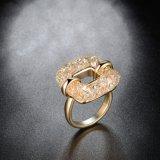 De Hoogste Juwelen van de Ring van de Vinger van de Vierkante Vrouwen van het Bergkristal van de Legering van Saudi-Arabië