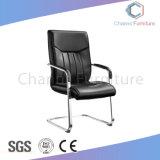 단단한 나무 팔 (CAS-EC1830)를 가진 현대 까만 가죽 회의 의자