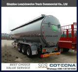 dos eixos 40cbm 3 do transporte do tanque reboque Fuel Oil Semi