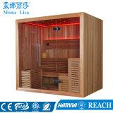 Personen-Kapazitäts-Zeder-hölzerner trockener Sauna-Raum des Quadrat-4-6 (M-6045)