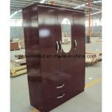 Шкаф горячего шкафа доски меламина MDF/Particle низкой цены сбывания деревянный