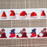 De populaire In het groot Punten van het Festival van het Afgedrukte Elastische Lint van Kerstmis
