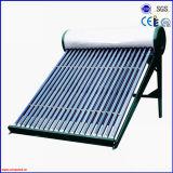 2016 Bajo la presión del tubo de vacío calentador de agua solar