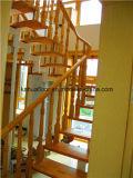 Myanmar Todo madera maciza de acero Titanium de la escalera