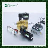 Electrovalvula Neumática 24v Dc 5/2 Valvula Solenoide Aire 4V310-10