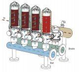 """3 """" Systeem van de Filter van de Schijf van het Type van T het Auto Zelfreinigende voor het Systeem van de Irrigatie van het Landbouwbedrijf"""