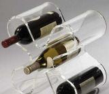 Doos van de Gift van het Glas van de Wijn van de douane de Acryl Enige
