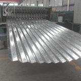 ASTM A653 S550gd Garde aço ondulado chapas galvanizadas para painel Sandwitch