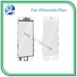 Vidro exterior com moldura de moldura média para iPhone6s 6s Plus lente de vidro dianteiro com moldura