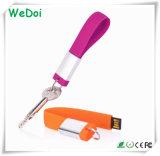 Bastone promozionale Keychain del USB del silicone con il prezzo competitivo (WY-S14)