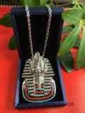 Bling BlingBijoux Hip Hop CZ pharaon égyptien Collier pendentif