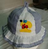Diseño normal del bordado de los niños del casquillo hermoso de la pesca