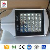 Indicatore luminoso di via solare registrabile Integrated esterno del giardino del LED con telecomando