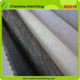 Thermiquement double point de non-tissé de polyester Tissu d'interligne de fusion