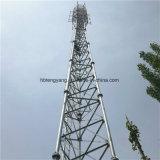 La télécommunication GSM 3-Leg pylône en treillis en acier tubulaire