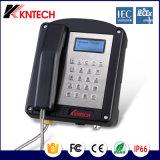 2016 quente! Telefone à prova de explosões Kntech Knex1 do telefone de Iecex de Kntech