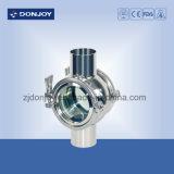 Ss 304 Soldadura Tubular Visor con Ss Cubierta Protectora