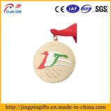 Dirigir o metal feito sob encomenda de bronze antigo do Sell para a medalha do esporte 3D