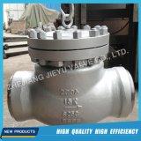"""150lbs-1500lbs 2 """" - 24 """" moldaram as válvulas de verificação A216 do balanço do aço inoxidável Wcb Wc6 CF8m"""