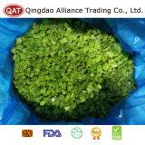 Qualität gefrorener gewürfelter grüner Pfeffer