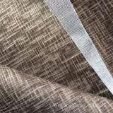 À l'extérieur brûlé velours pour le tissu décoratif à la maison de couverture de coussin