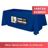 Tissu personnalisé Hot vente Table promotionnel couvre avec Competitve Prix