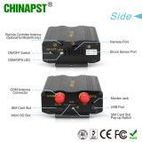 Perseguidor al por mayor del GPS del vehículo de la alarma del sensor del combustible de la vibración el SOS (PST-VT103A)