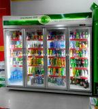 Dispositivo di raffreddamento della bevanda del portello dell'armadietto di esposizione 4