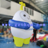 Costume de marche Inflatable Cartoon Character / Publicité Inflatable Walking Cartoon