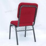 金属の鋼鉄スタック可能パッドを入れられた人間工学的のチャペルの崇拝教会椅子Yc-G38